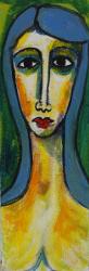 Collum mit blauem Haar -- € 1.200,-