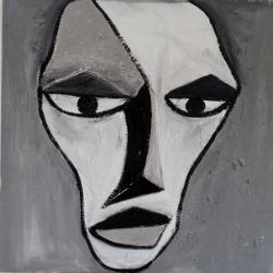Maske Africa -- € 8.000,-