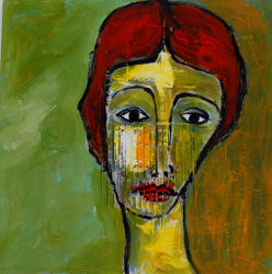 Portrait VII   -- € 1.200,-
