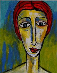 Portrait IX -- € 3.000,-