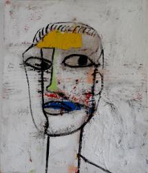 Portrait gelbe Stirn  -- € 6.500,-