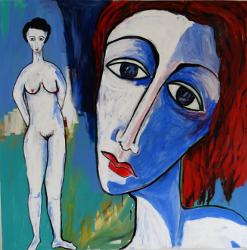 Portrait mit Akt  -- € 25.000,-