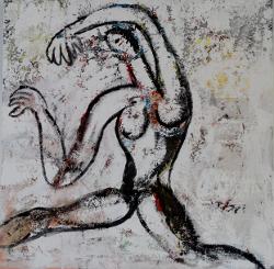 Tanzender Akt -- € 8.000,-